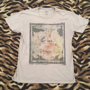 Obey Shirt Size Large Design front